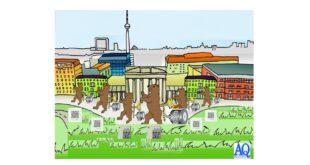 Elektromotorenkoffer in Berlin im Bild Berliner Bär mit 3 Chiptechnologie